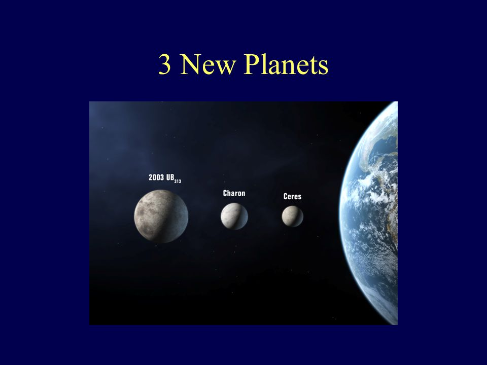 3 New Planets