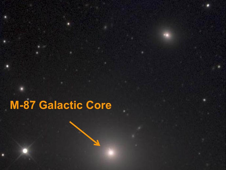 M-87 Galactic Core