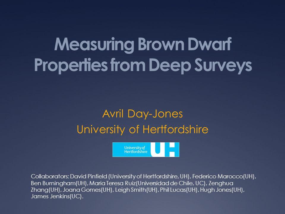 Unresolved Binaries Day-Jones et al.