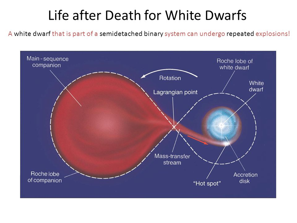 A white dwarf that is part of a semidetached binary system can undergo repeated explosions! Life after Death for White Dwarfs