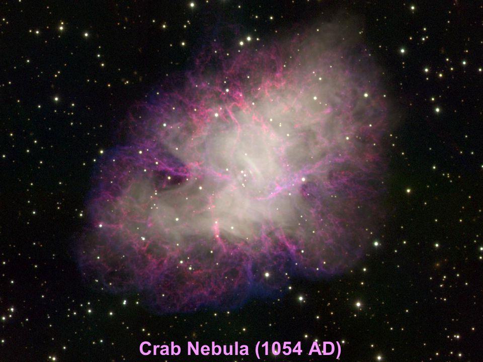 Crab Nebula (1054 AD)