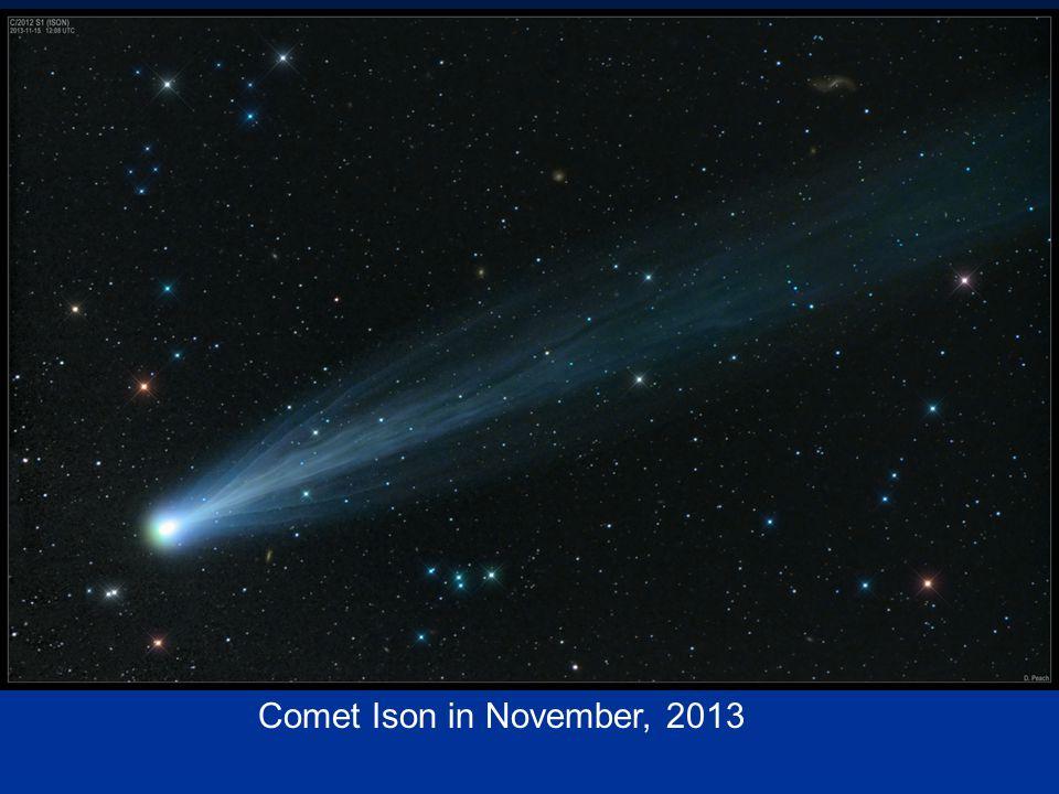 Comet Ison in November, 2013