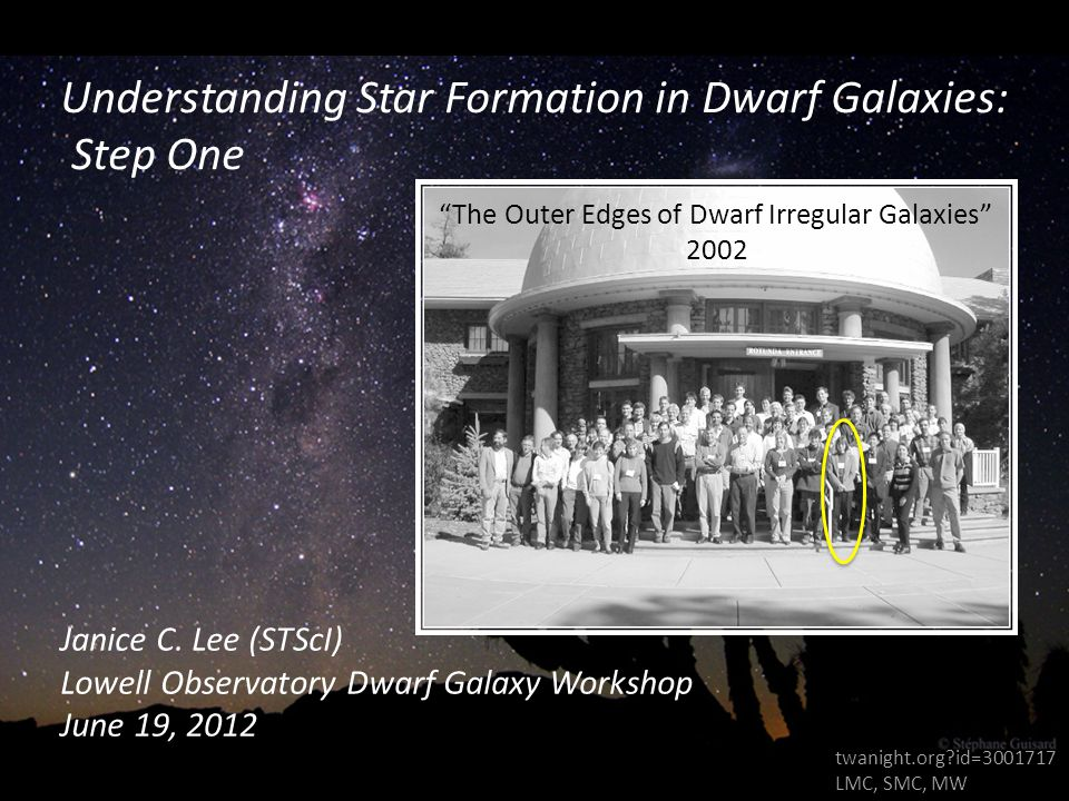 Understanding Star Formation in Dwarf Galaxies: Step One Janice C.