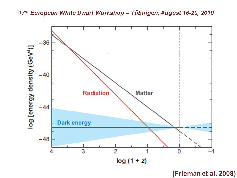 (Frieman et al. 2008) 17 th European White Dwarf Workshop – Tübingen, August 16-20, 2010