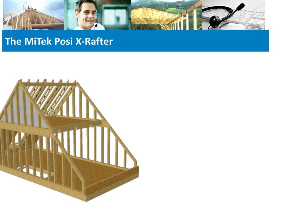 The MiTek Posi X-Rafter
