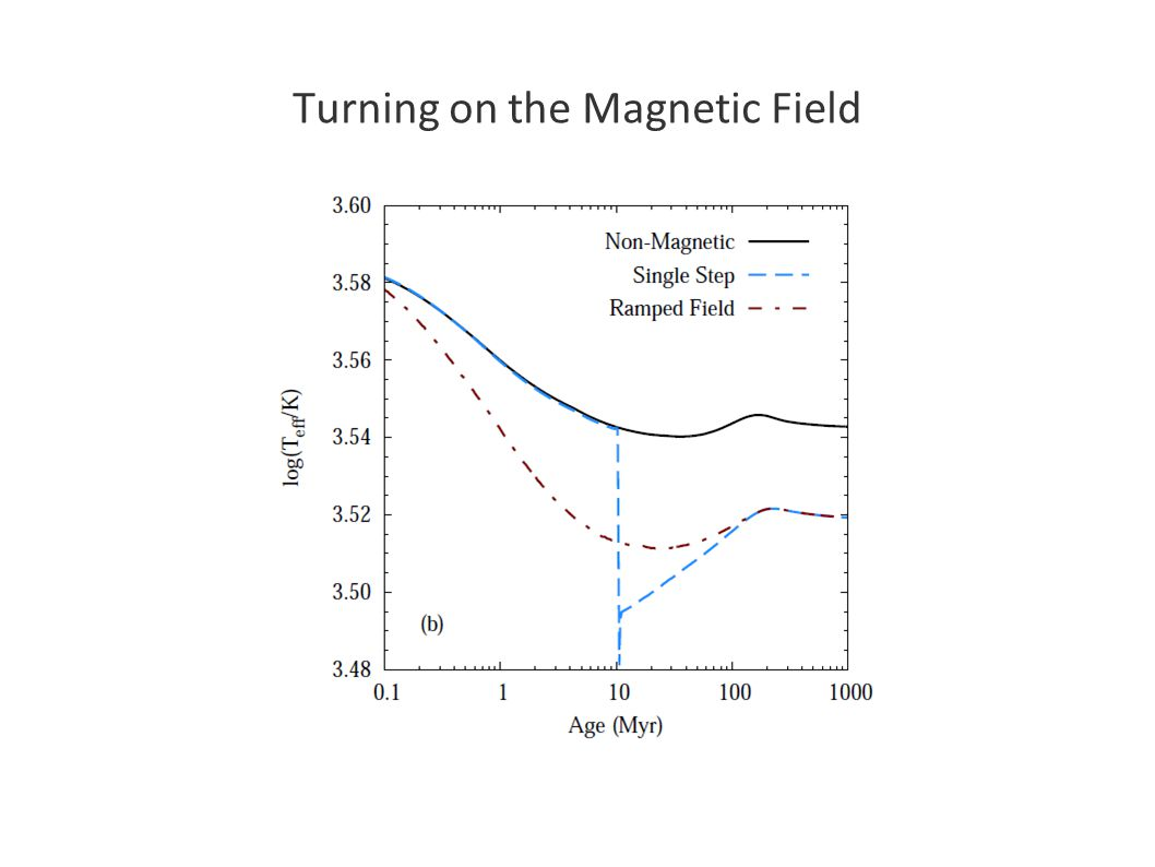 Turning on the Magnetic Field