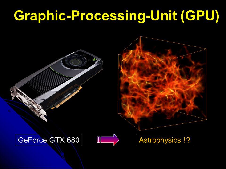 Graphic-Processing-Unit (GPU) GeForce GTX 680Astrophysics !?