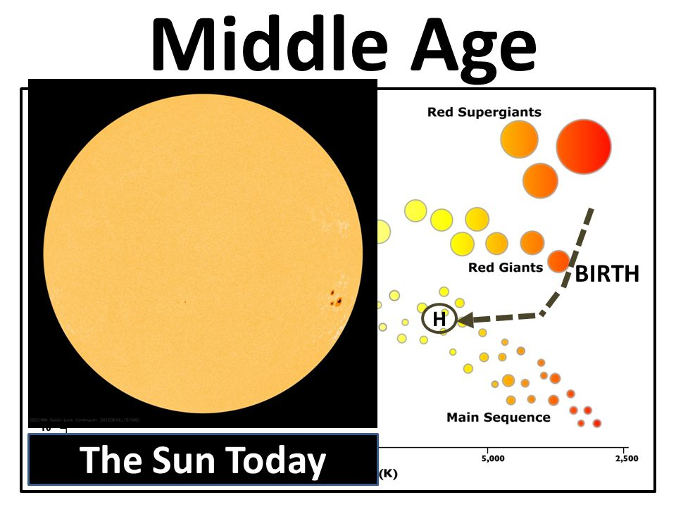 Middle Age BIRTH H The Sun Today