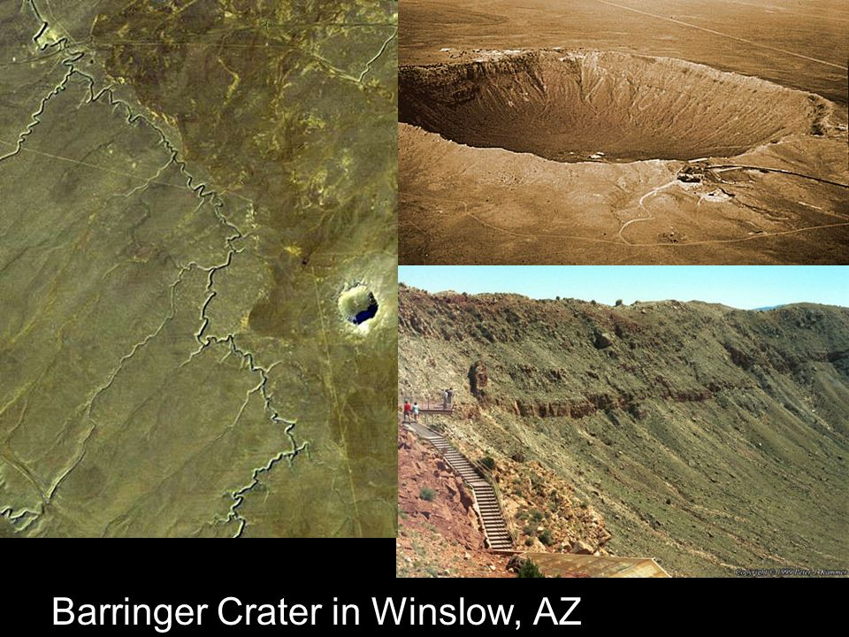 Barringer Crater in Winslow, AZ