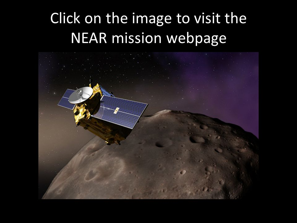 Click on the image to visit the NEAR mission webpage