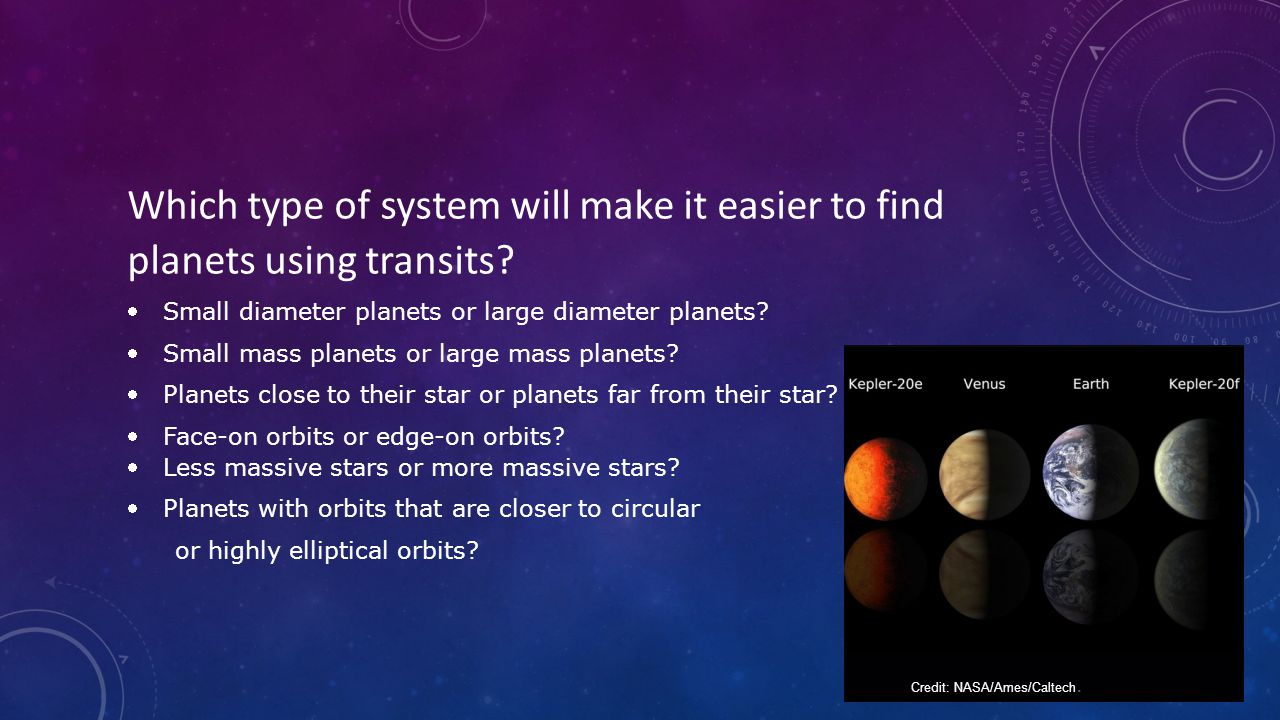 Which type of system will make it easier to find planets using transits.