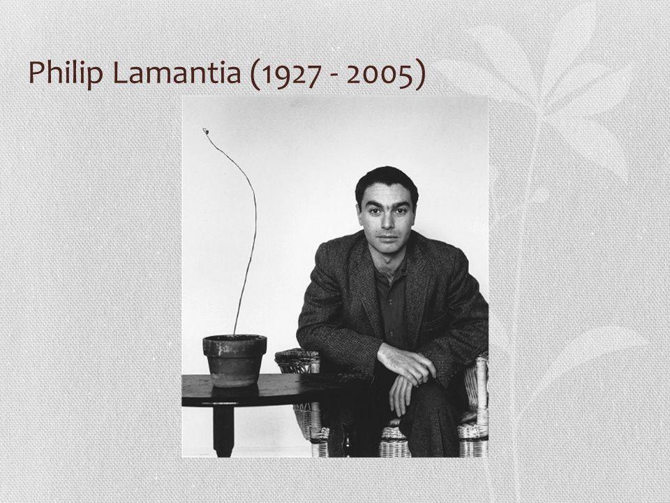Philip Lamantia (1927 - 2005)