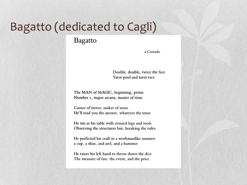 Bagatto (dedicated to Cagli)