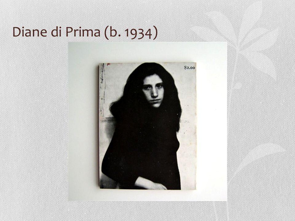 Diane di Prima (b. 1934)