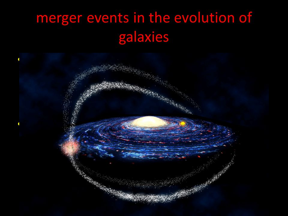 Galaxy mergers and the formation of elliptical galaxies The most massive galaxies in the sky are giant elliptical galaxies.