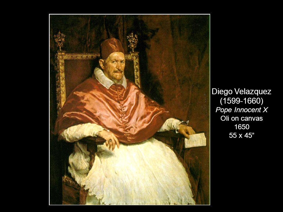 "Diego Velazquez (1599-1660) Pope Innocent X Oli on canvas 1650 55 x 45"""