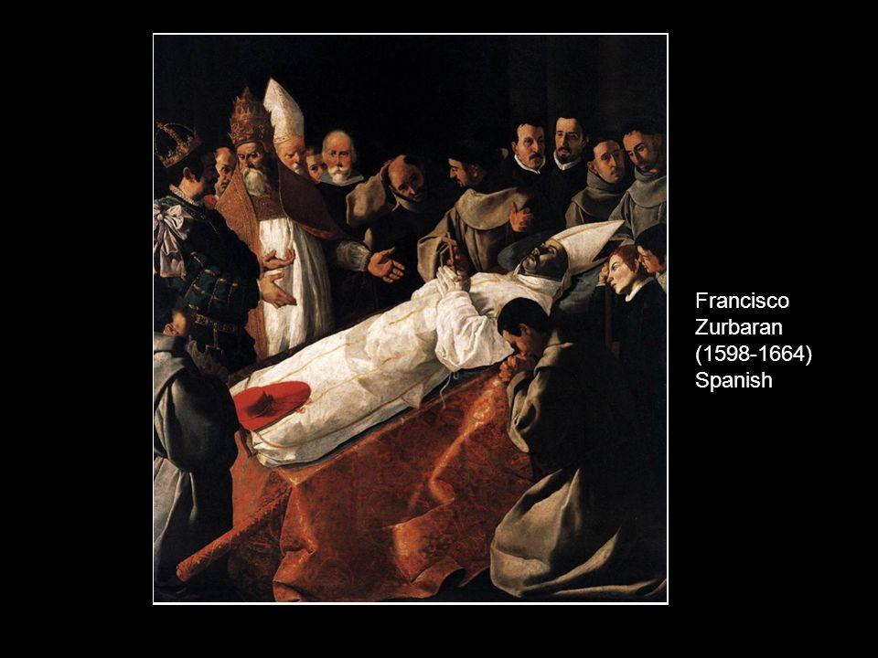 Francisco Zurbaran (1598-1664) Spanish