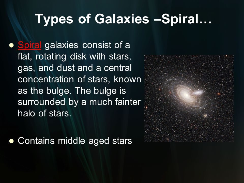 Our Sun is a medium sized, main sequence star. It is the closest star to Earth Our Sun