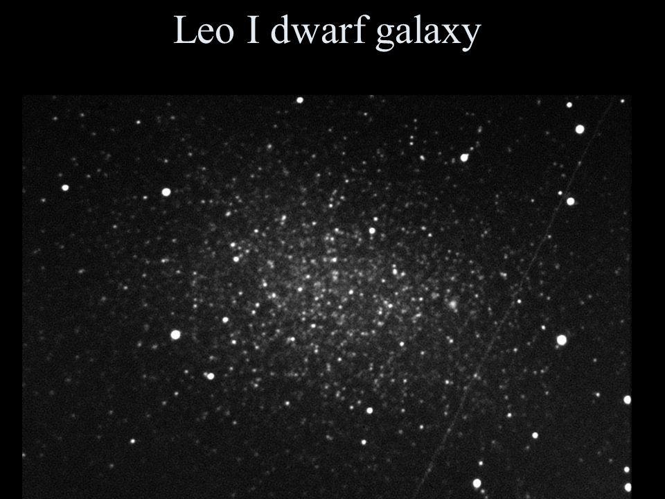 Leo I dwarf galaxy