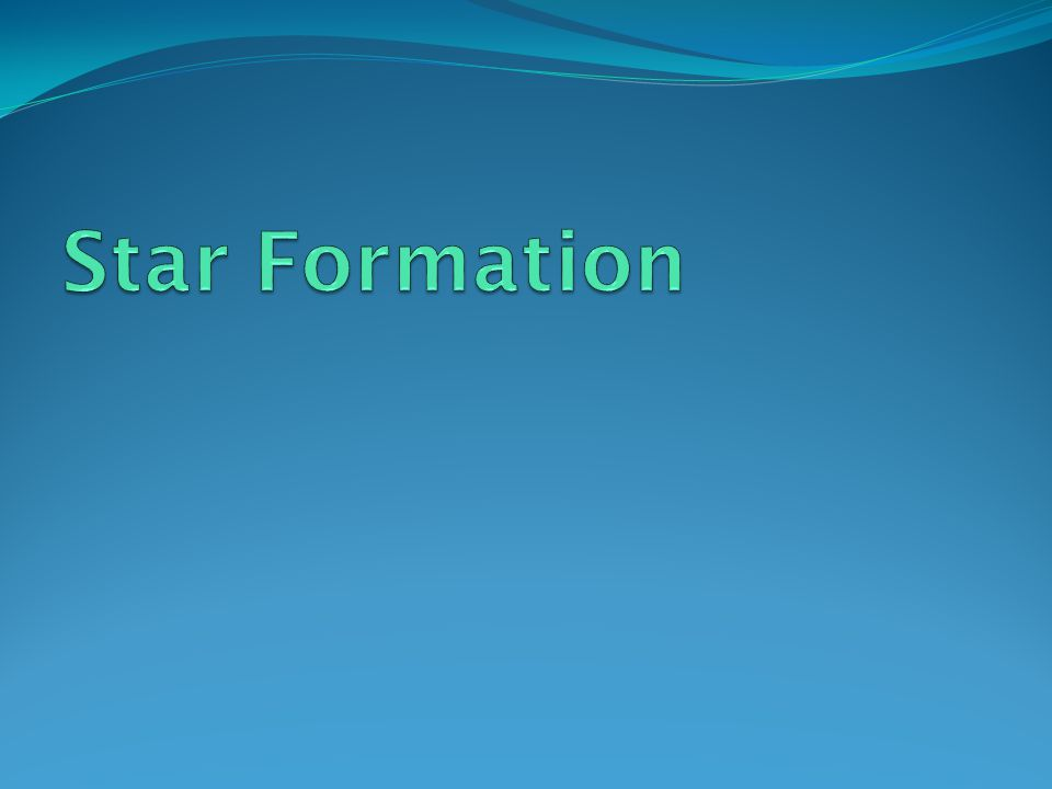 Stellar Evolution The formation and lifetimes of stars is dependant on their size.