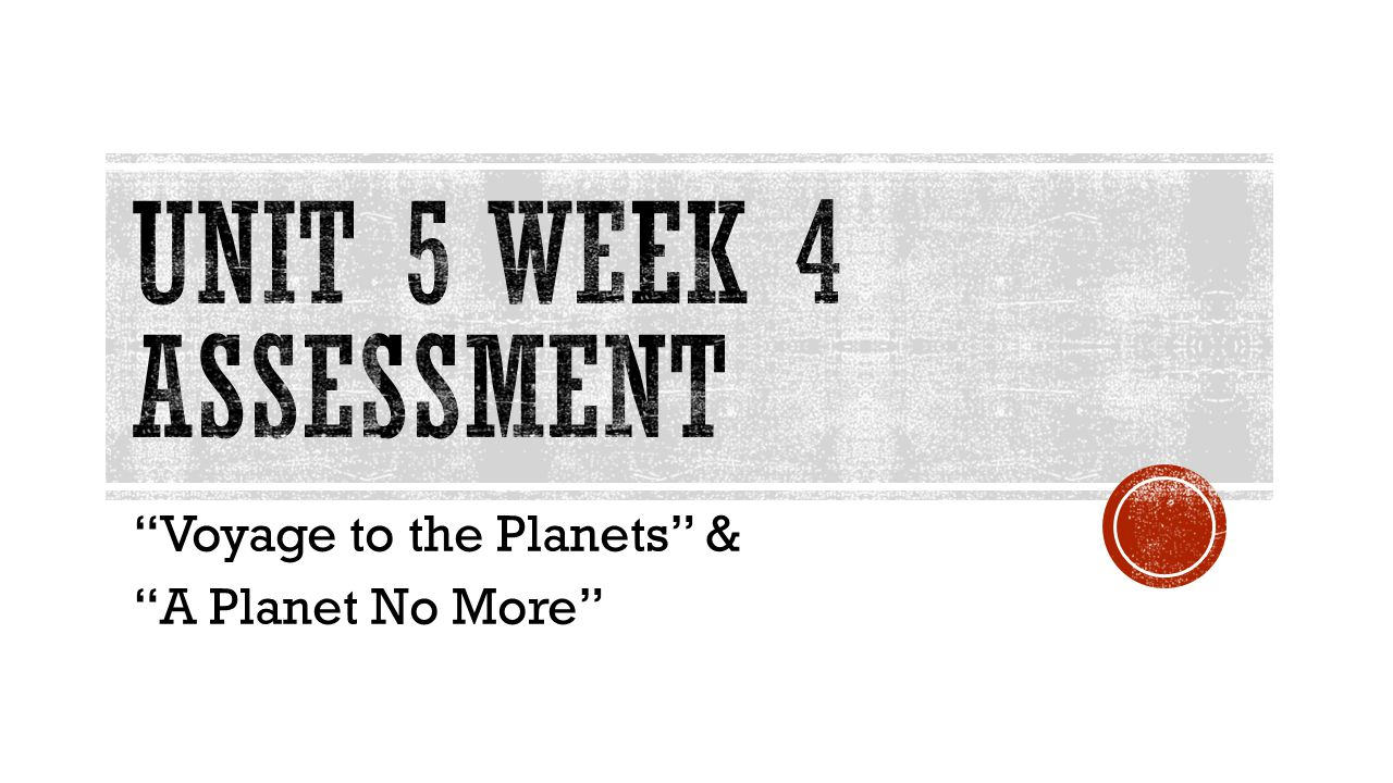 """""""Voyage to the Planets"""" & """"A Planet No More"""""""