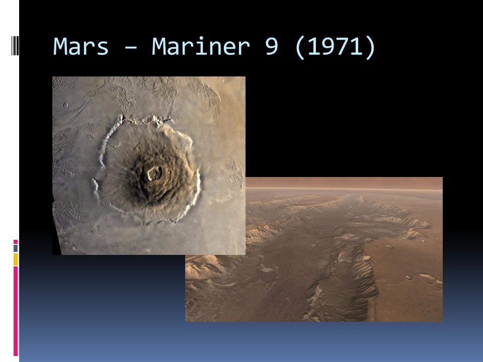 Mars – Mariner 9 (1971)