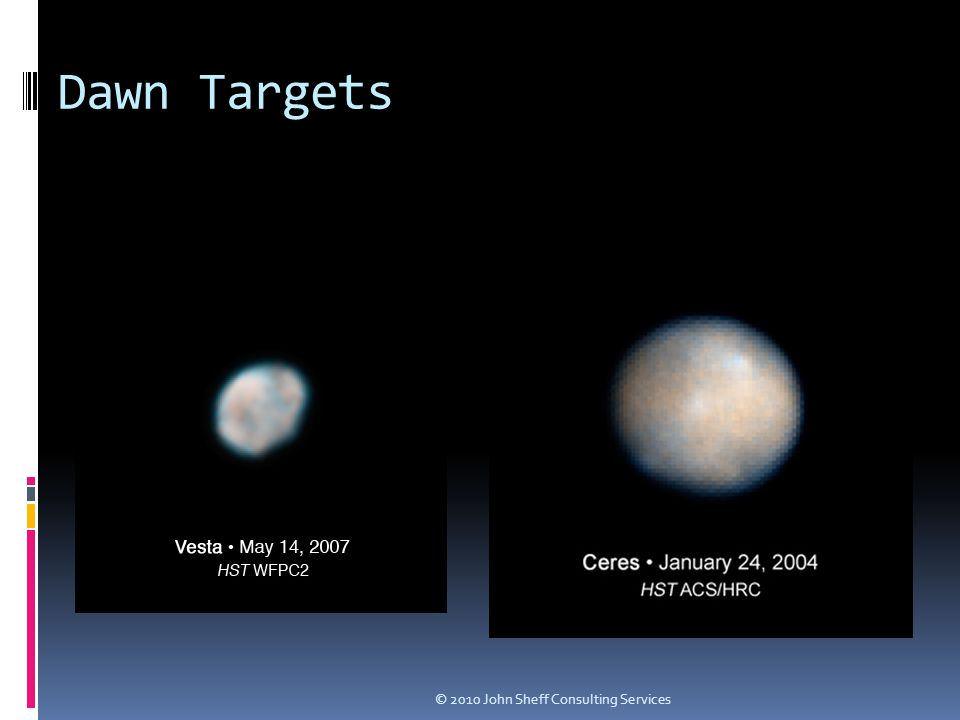 Dawn Targets © 2010 John Sheff Consulting Services