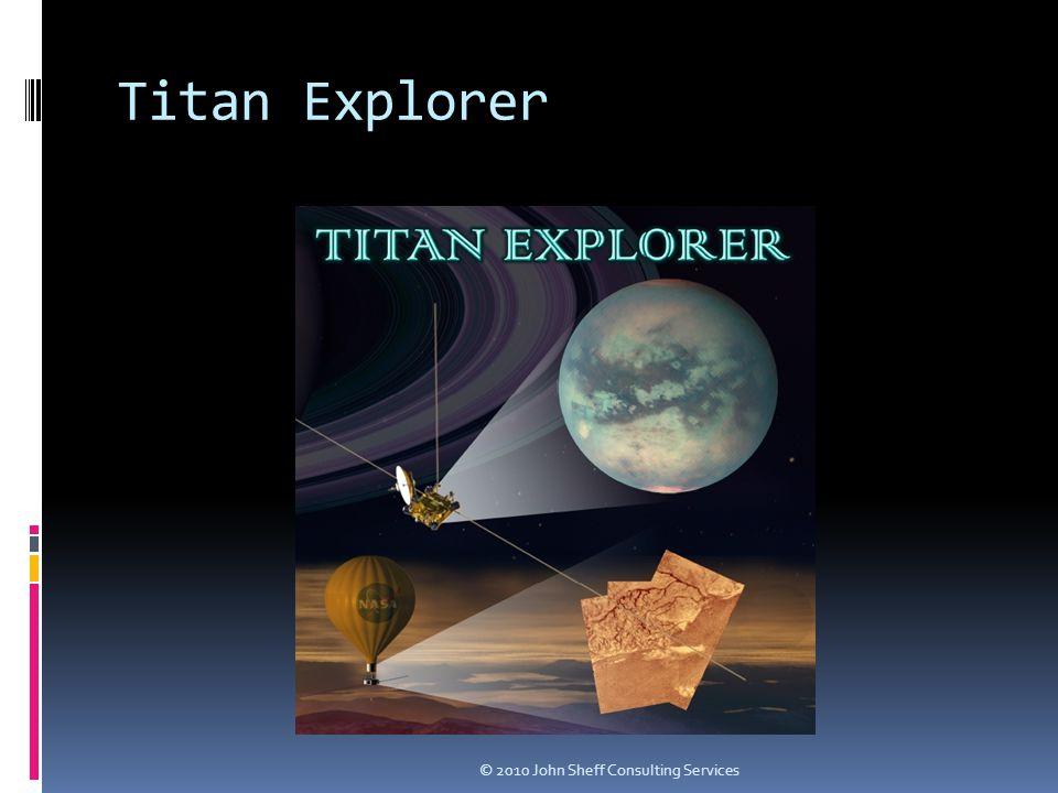 Titan Explorer © 2010 John Sheff Consulting Services