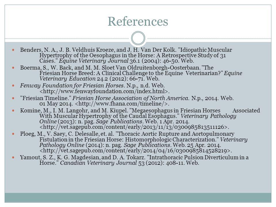 References Benders, N.A., J. B. Veldhuis Kroeze, and J.