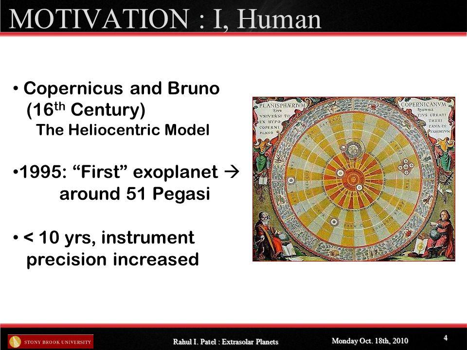 DIRECT IMAGING: Adaptive Optics Monday Oct.18th, 2010 Rahul I.