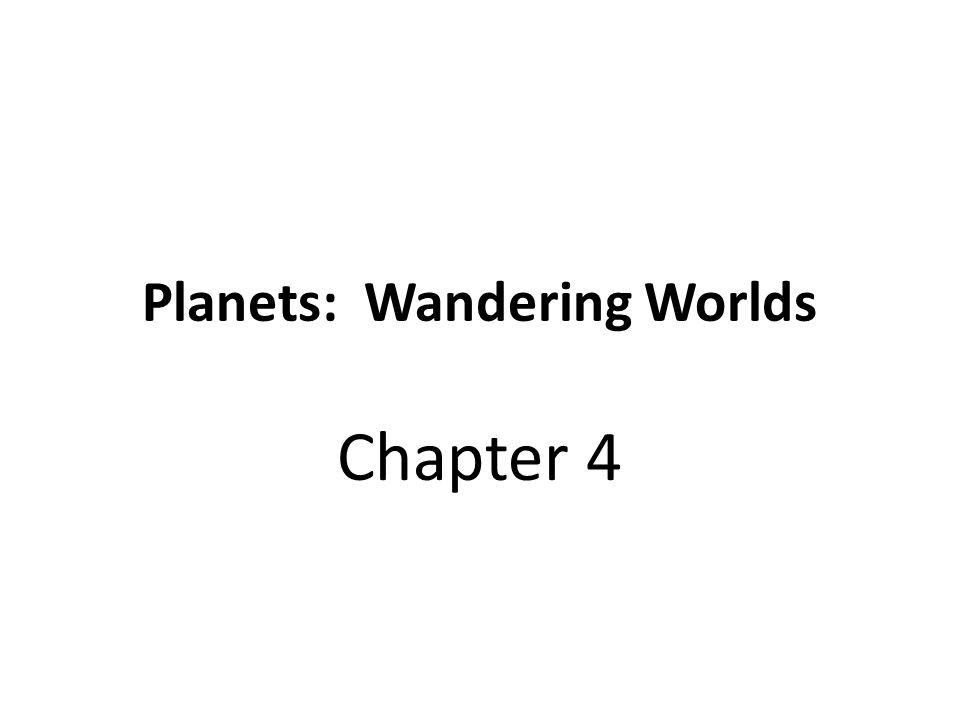 Planets: Wandering Worlds Chapter 4