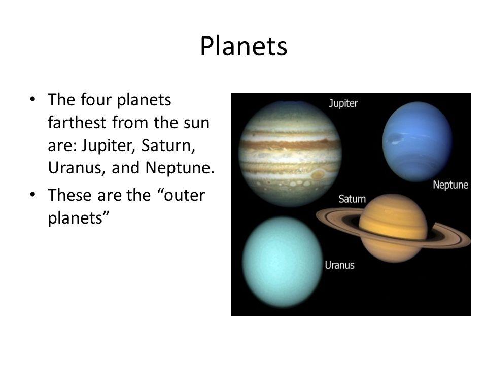 Uranus Uranus is the third largest planet in the solar system.