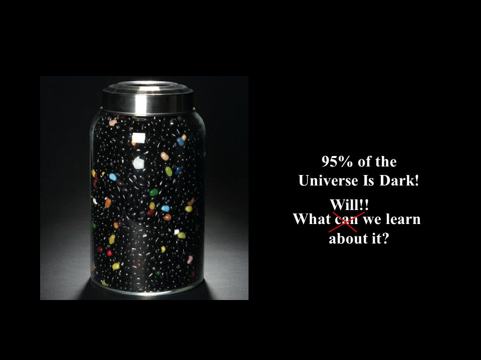 95% of the Universe Is Dark! What can we learn about it? Will!!