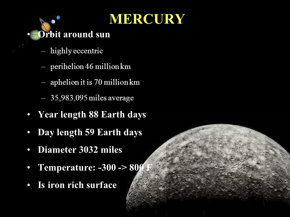 11/15/99Norm Herr (sample file) SUN 75% hydrogen and 25% helium by mass Sun fuses hydrogen to helium in its core Differential rotation –equator the surface rotates once every 25.4 days –near the poles it s as much as 36 days Core conditions –temperature is 15.6 million Kelvin –pressure is 250 billion atmospheres