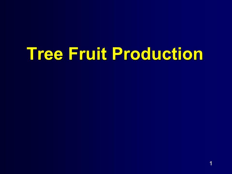 1 Tree Fruit Production
