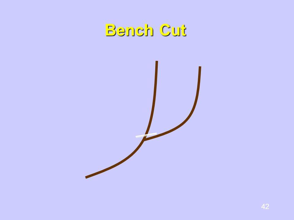 42 Bench Cut