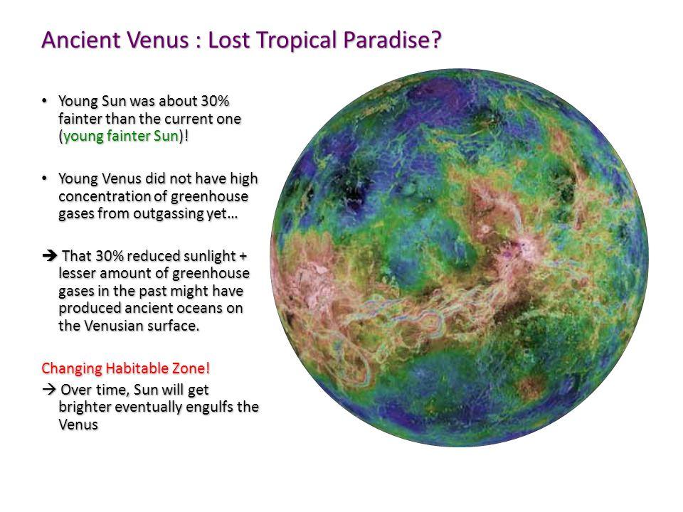 Ancient Venus : Lost Tropical Paradise.