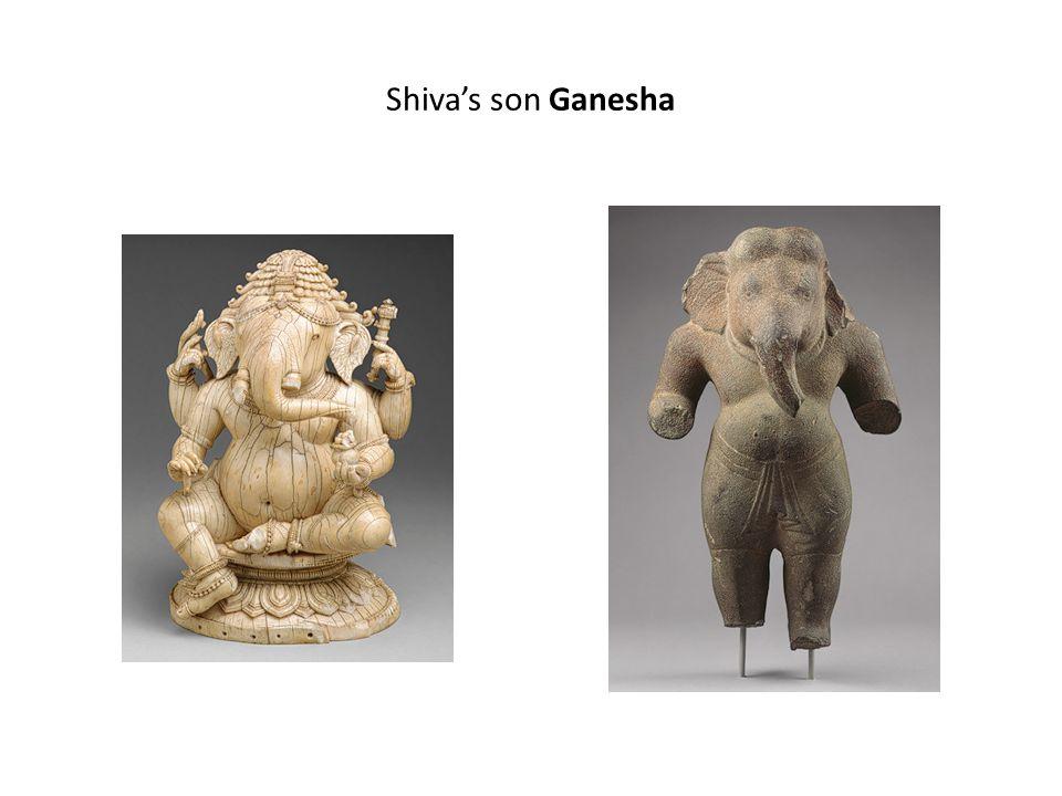 Shiva's son Ganesha