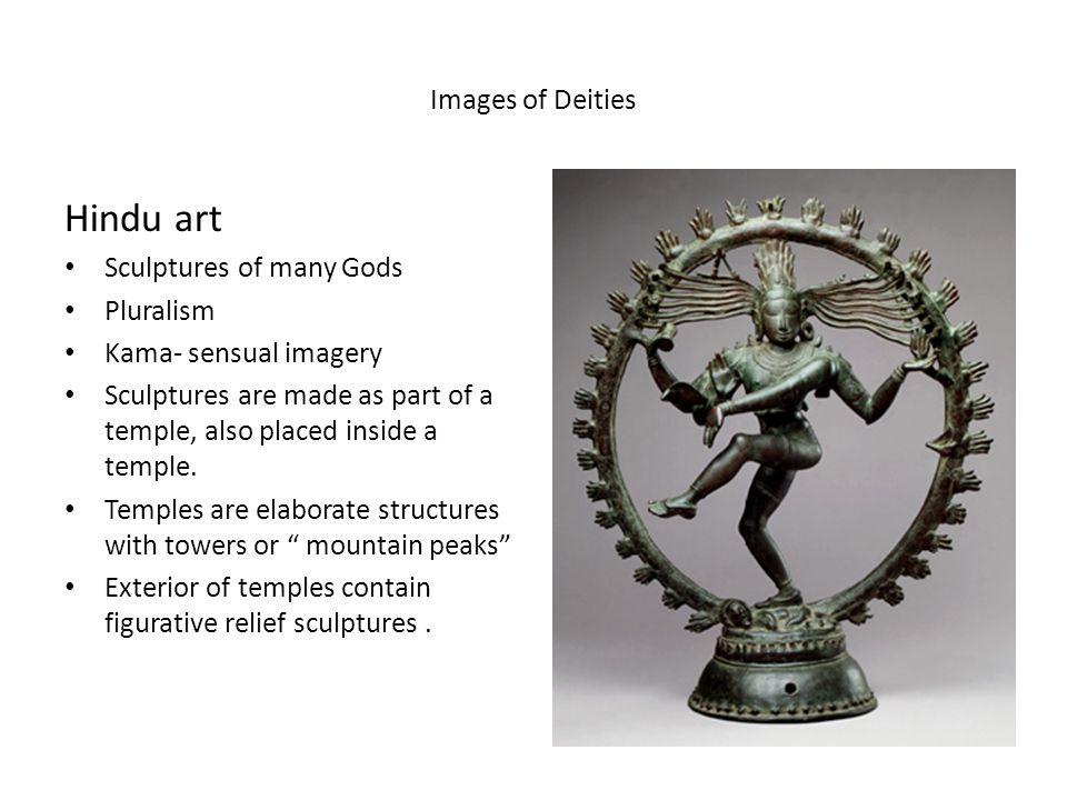 Figure 6-17 Dancing Shiva, rock-cut relief in cave temple, Badami, India, late sixth century.