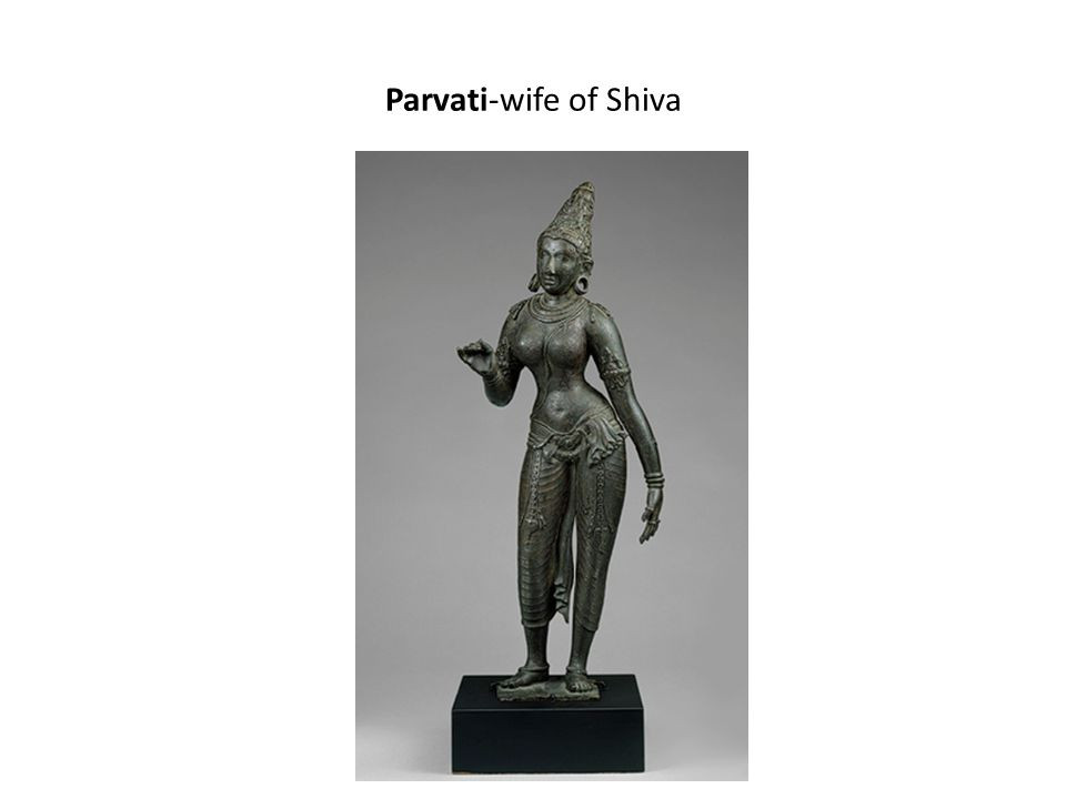 Parvati-wife of Shiva