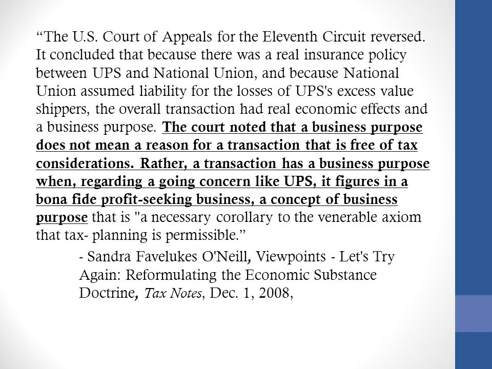 The U.S.Court of Appeals for the Eleventh Circuit reversed.