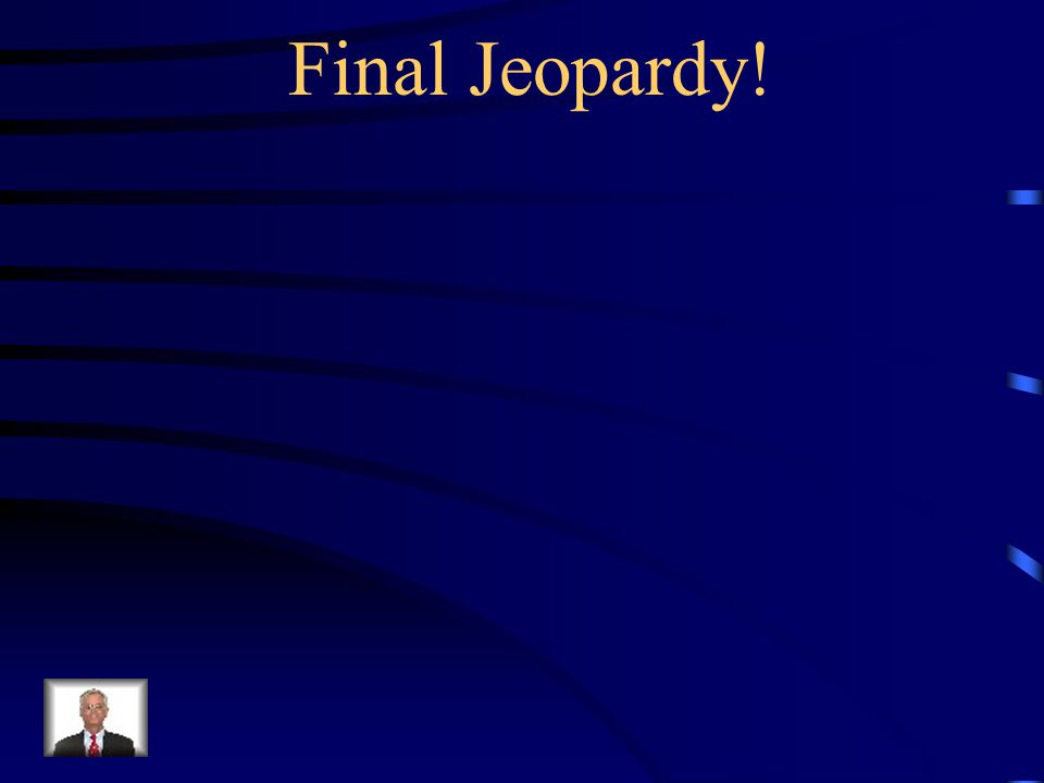 Final Jeopardy!