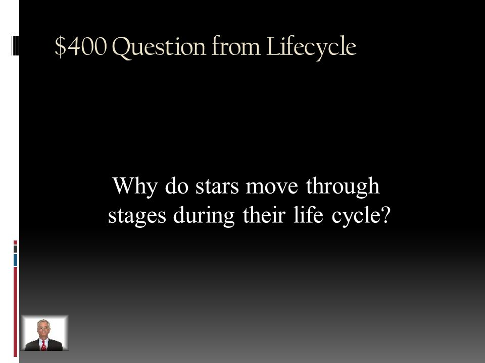 $300 Answer from Lifecycle Red Giant
