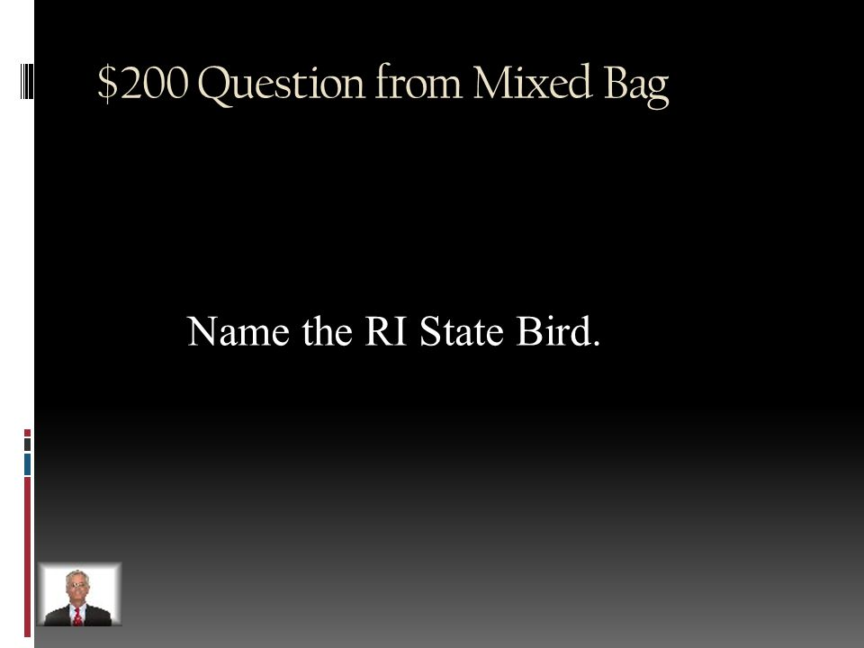 $100 Answer from Mixed Bag The Simpsons
