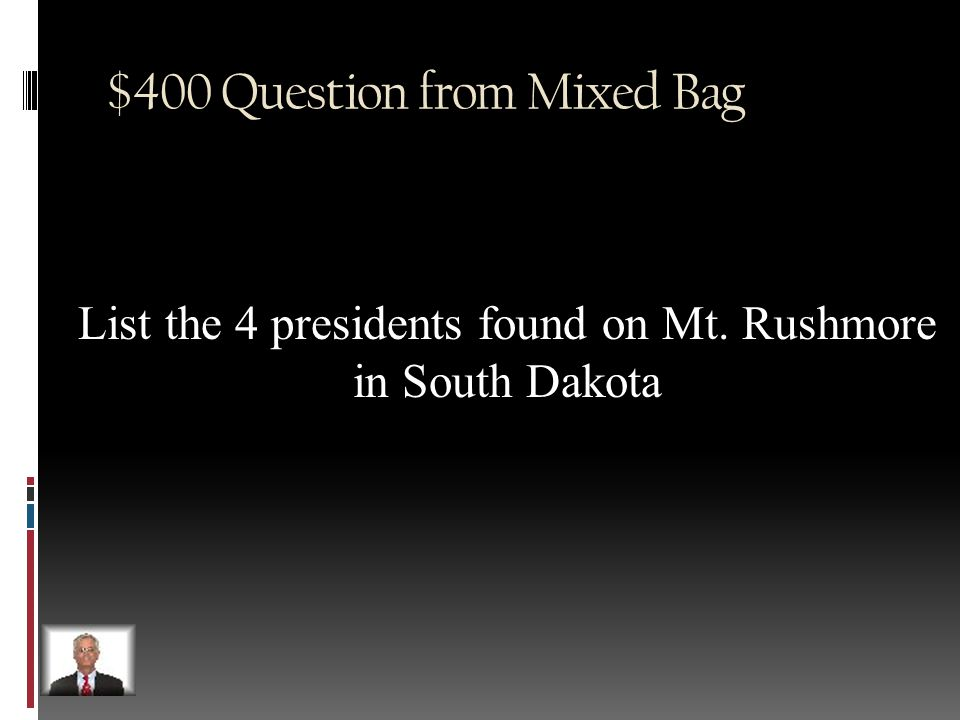 $300 Answer from Mixed Bag Palindrome