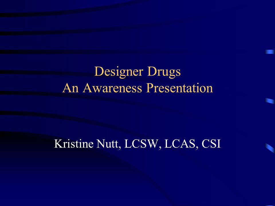 Disclaimer This presentation is meant to provide basic awareness information on herbal incense products and bath salts.