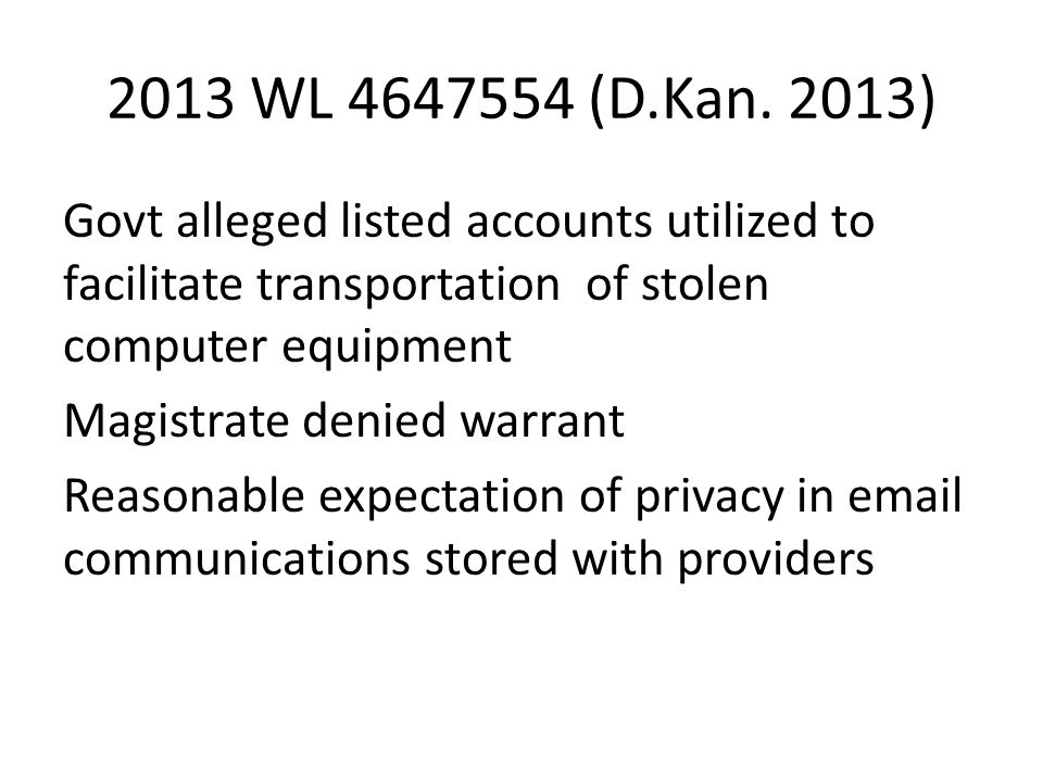 2013 WL 4647554 (D.Kan.