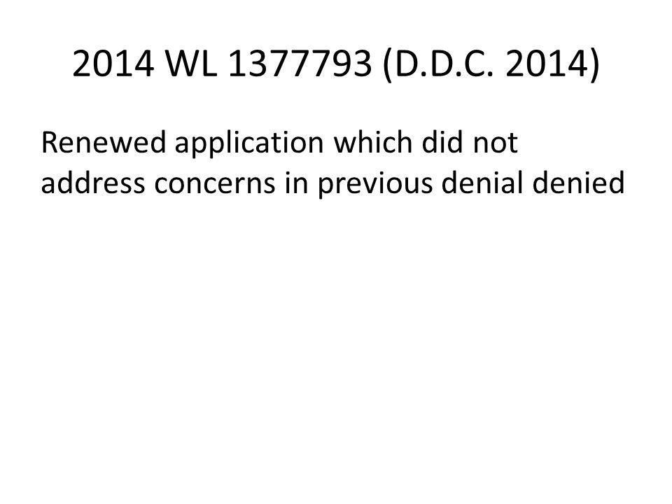 2014 WL 1377793 (D.D.C.