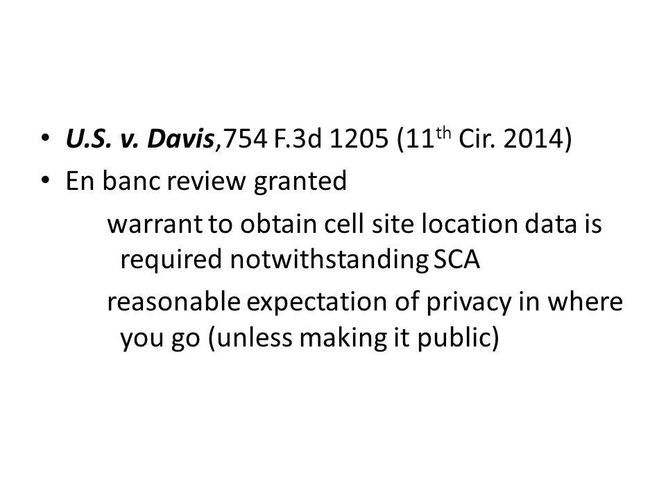 U.S. v. Davis,754 F.3d 1205 (11 th Cir.
