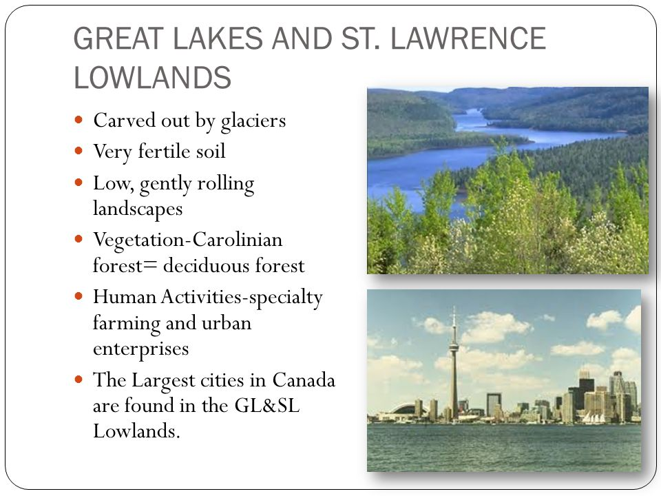 GREAT LAKES AND ST.